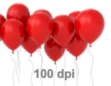 картинка показывающая 100 dpi