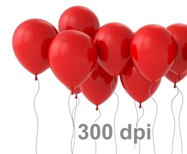 картинка показывающая разрешение 300 dpi
