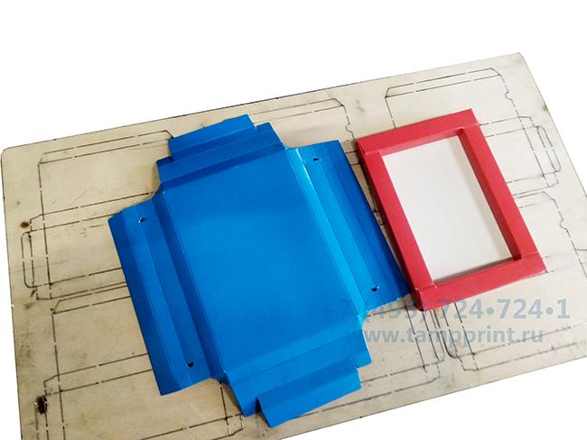 коробка дно на штампе